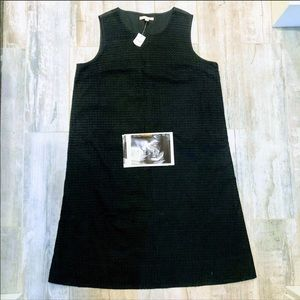 Gap Maternity black eyelet shift dress size 4